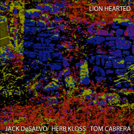 Album Lion Hearted by Jack DeSalvo