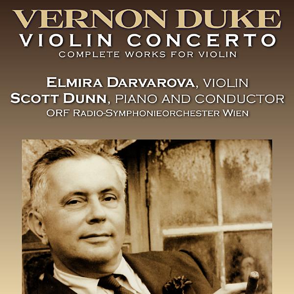 Duke: Violin Concerto, Complete Violin Music - Elmira Darvarova, Scott Dunn